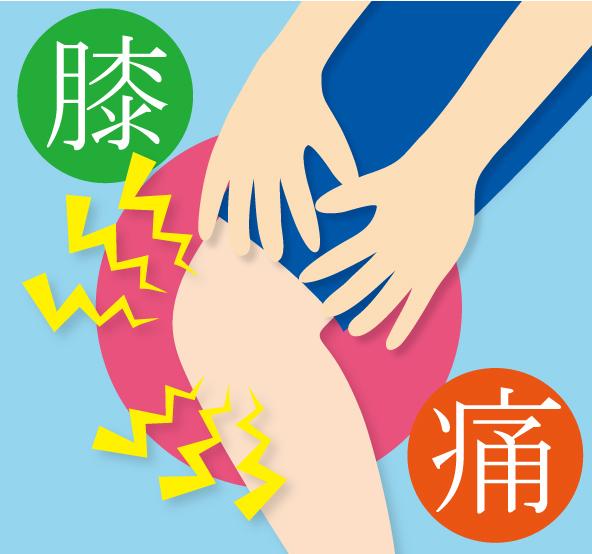 突然起こった膝の痛み
