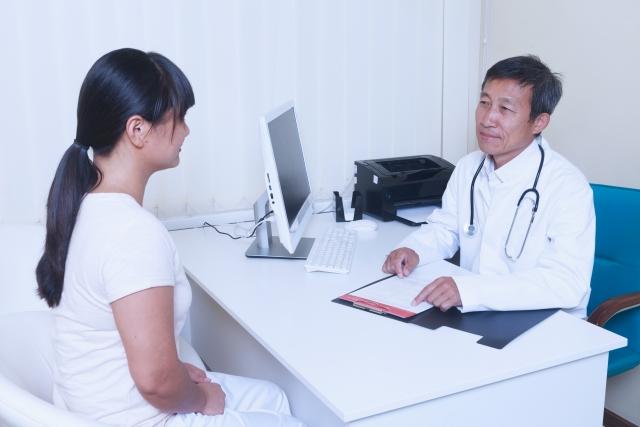 病院での診察