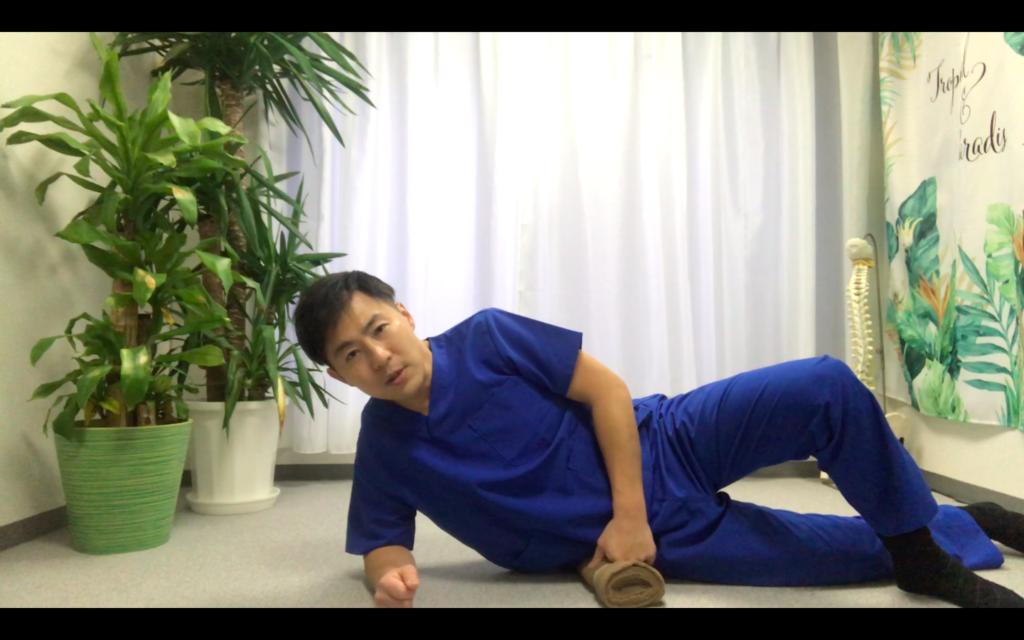 中臀筋前部繊維エクササイズ